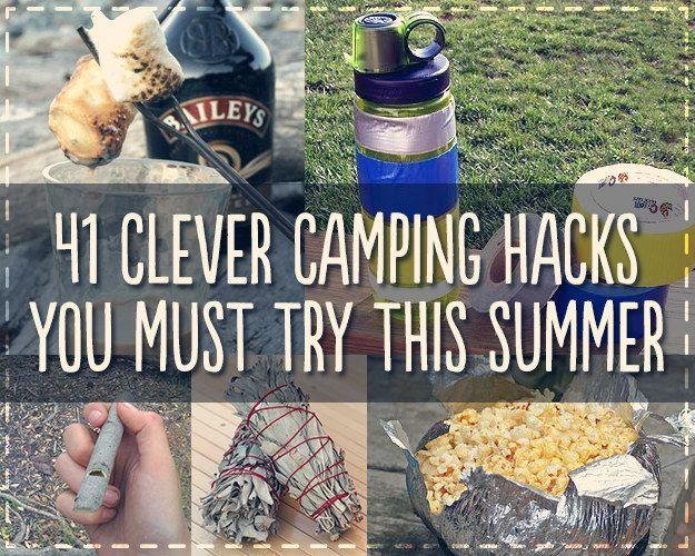41 Genius Camping Hacks