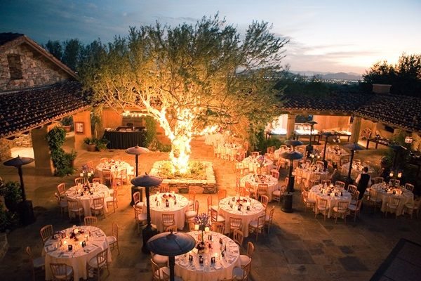 Outdoor Southwestern Reception Venue | photography by http://www.carriepattersonphotography.com