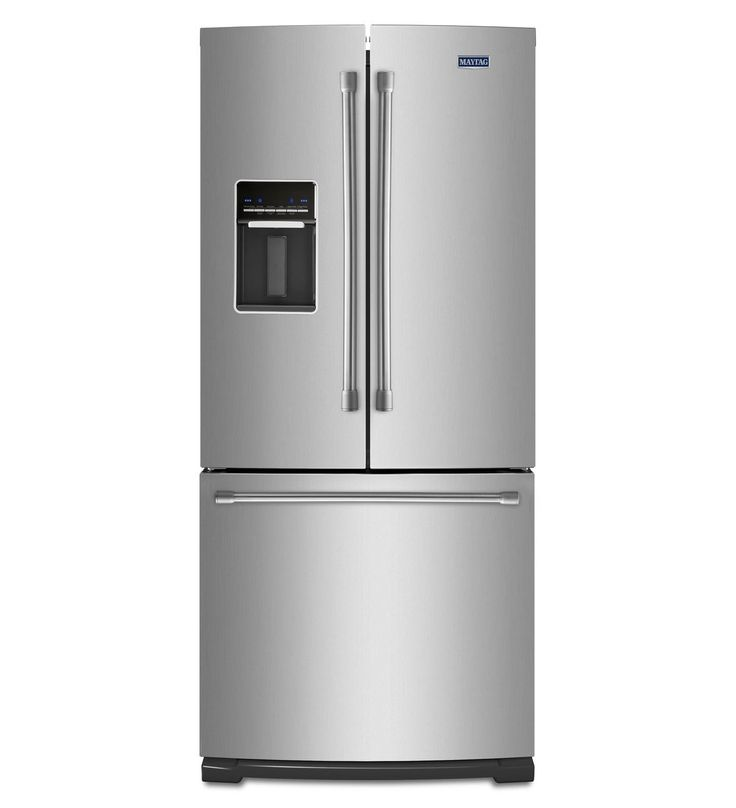 Kitchenaid 22 1 Cu Ft French Door Refrigerator With Ice: Best 25+ Stainless Steel Refrigerator Ideas On Pinterest