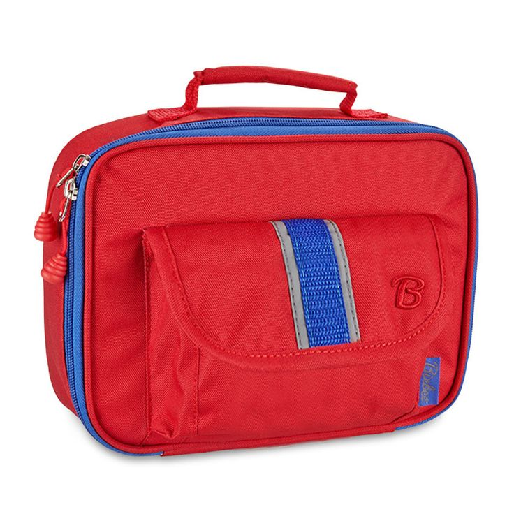 """Bixbee """"Signature"""" Kids Insulated Lunchbox - Red: PRE-ORDER only!"""