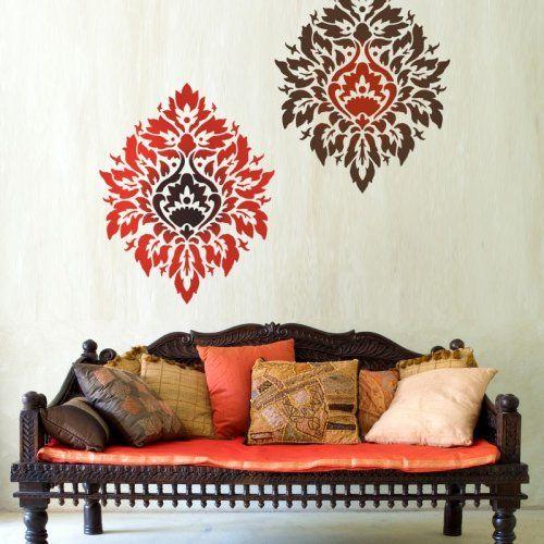 116 Best Wall Stencil Design Images On Pinterest