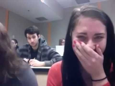 Girl Makes Guy Sneeze Without Touching Him - YouTube