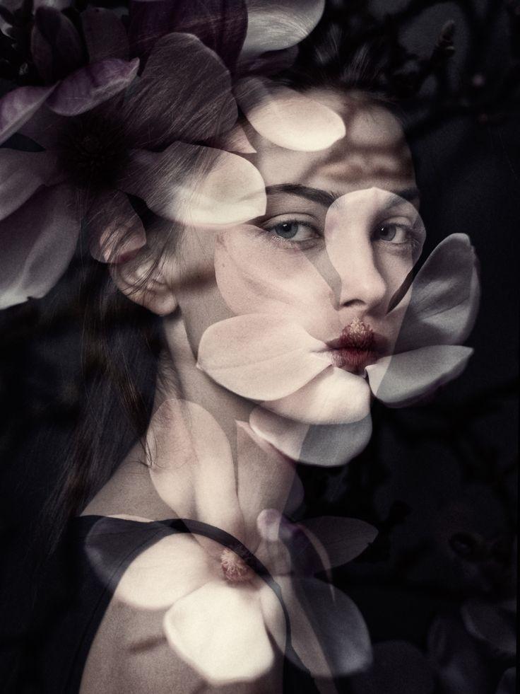 Black Flower  Charleen@miha-modelmanagemt.com, Hair & Make-up : Dany Madaus