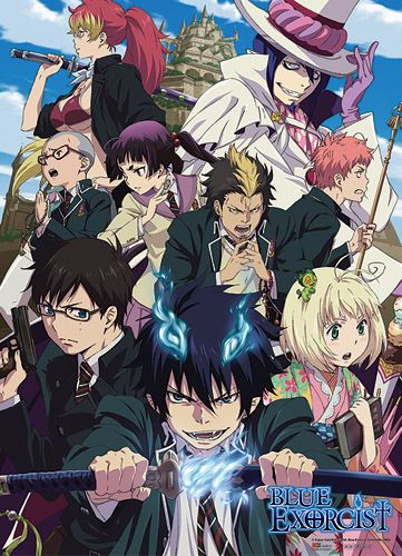 Static Fluff Anime Bring You This Awesome Blue Exorcist Fabric Poster Check Us Our