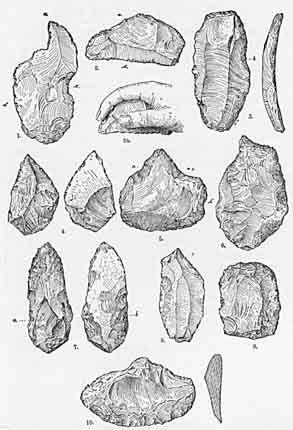 Old Stone Age Tools | Men of the Old Stone Age