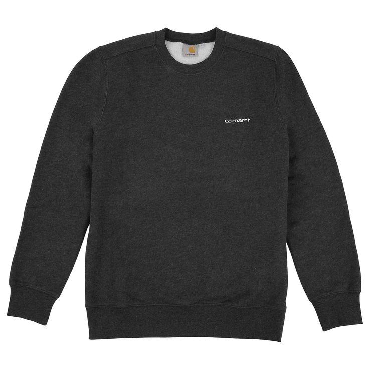 sweater - script embroidery