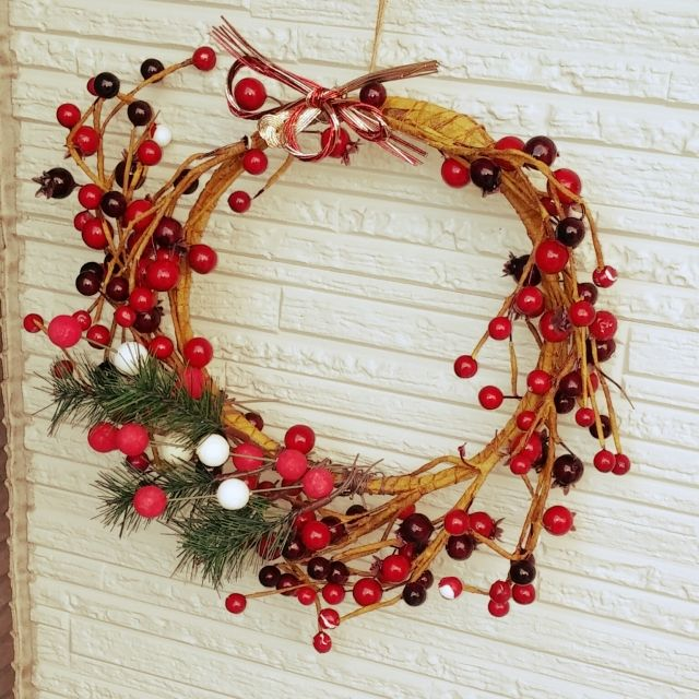 --Yu--Chi--さんの、ダイソー,ニトリ,100均,季節の飾り,イベント参加中,お正月飾り,お正月,玄関/入り口,のお部屋写真
