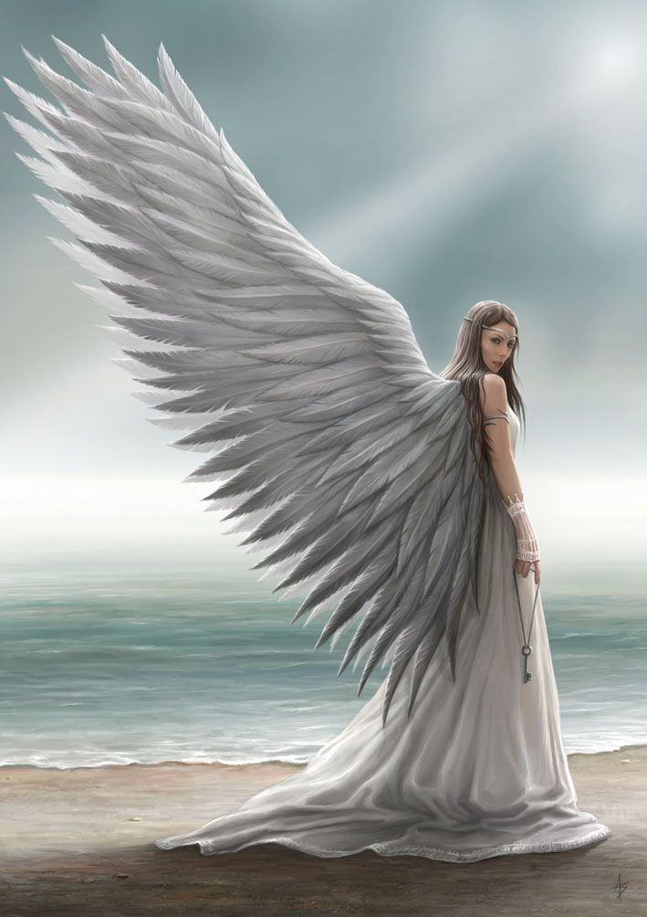 """Archangel Mother"" Spirit Guide by Anne Stokes  (Afterlife Saga)"