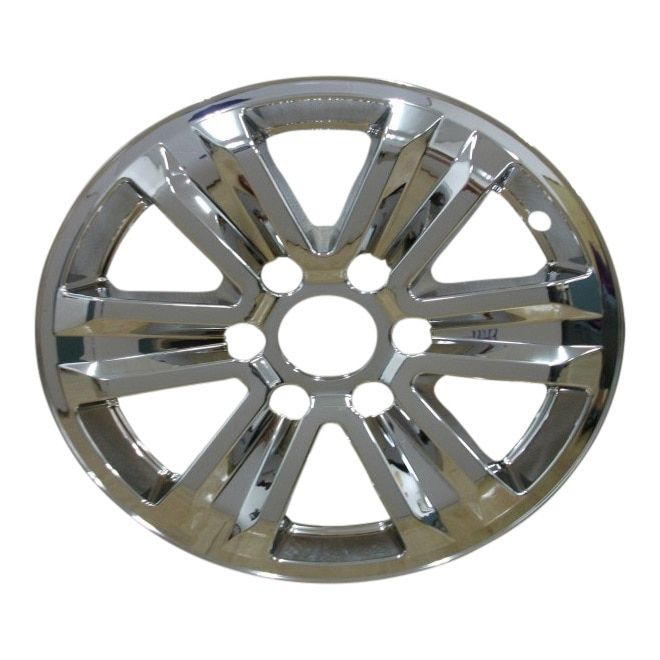 Ford F150 Xlt 7965p C Chrome Wheel Skins Hubcaps Wheel Covers 17 3995 2015 2016 2017 Single Piece Hubcaps Unlimited In 2020 Ford F150 Xlt Chrome Wheels Ford F150