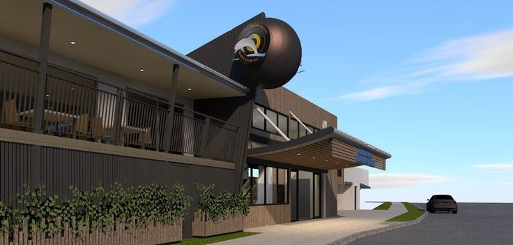 Bowls Club designed by Focus Architecture.