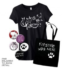Kitsune Lover Gift Set (Ladies)