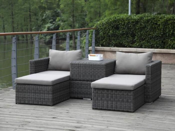 Zebra Jack Lounge Set Taupe Gartenmobel Gartenmobel Aussenmobel Outdoor Lounge