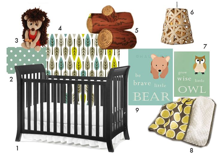 nursery ideas: Woodland Nursery, Baby Kids Miscellani, Baby Fever, Forests Theme, Logs Pillows, Gender Neutral Nurseries, Baby Armentrout, Woodland Nurseries, Nurseries Ideas