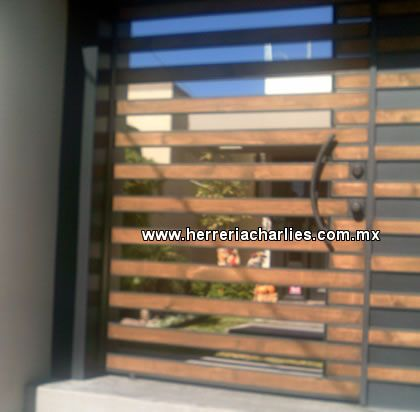 M s de 1000 ideas sobre rejas metalicas en pinterest Puertas metalicas usadas