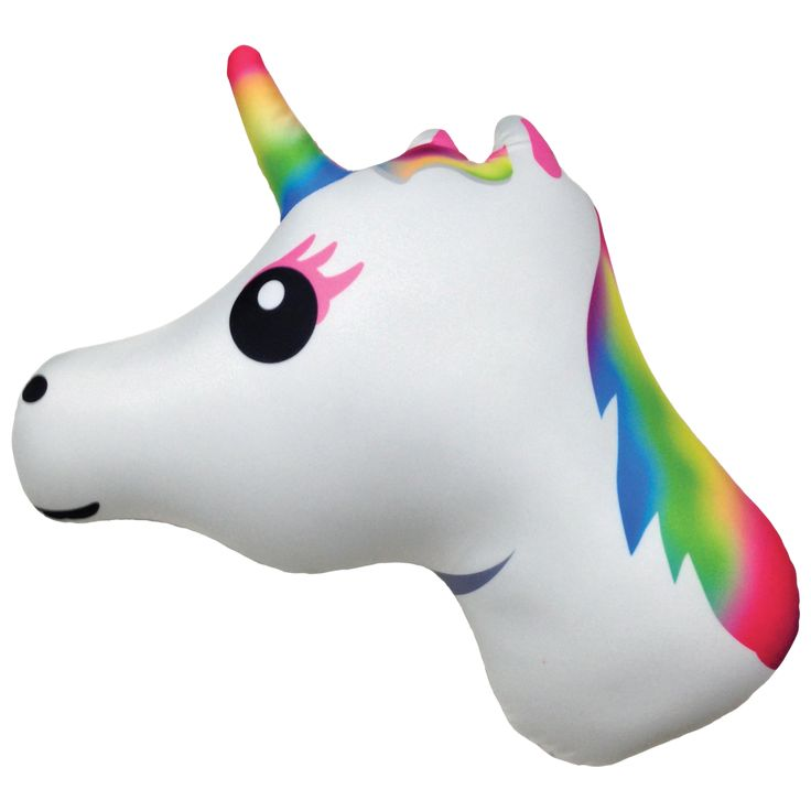 Emoji - Unicorn Pillow