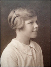 "Venetia Burney, aged 11. The English schoolgirl was fascinated with the classical myths and suggested the name Pluto for Clyde Tombaugh's discovery in 1930. It was something of a family tradition. Her great uncle had suggested the names Deimos and Phobos for the moons of Mars. ©Mona Evans, ""Pluto Facts for Kids"" http://www.bellaonline.com/articles/art40363.asp"