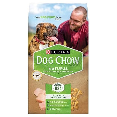 Print a rare buy one, get one free Purina Dog Chow Natural Dog Food coupon!