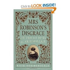 In 1858 Victorian England, an industrialist found his wife's diary, read it, and filed for divorce against her. Lest we fail to associate this with a sex scandal, the man was conveniently named Henry Robinson, making the long-suffering wife Mrs. Robinson. Her most private thoughts, including her infatuation with the married Dr. Edward Lane, were read out loud in court, causing a sensation at the time. Did she actually have an affair? And will the divorce be granted?