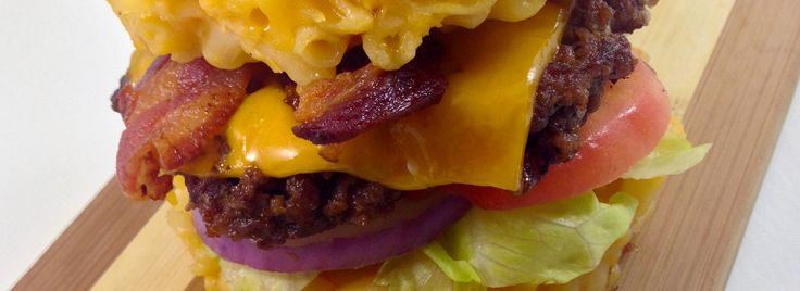 Mac and Cheese Burgers Recipe - Kids of all ages will do a double take when served these burgers! A simple Wisconsin cheddar mac recipe gets turned into burger buns. Try this fun twist on the bun with any of your favorite burgers.