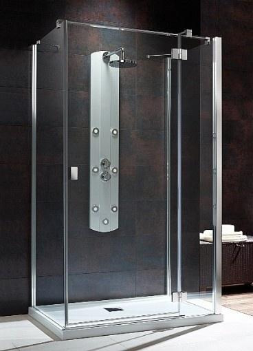 Essenza KDJ S kwadratowa kabina prysznicowa 100x80x195 prawa przejrzyste - 32942-01-01NR