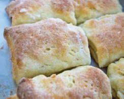 Gluten-Free Crusty Parker House Rolls