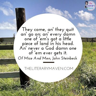 an analysis of of mice and men a novella by john steinbeck Of mice and men john steinbeck of mice and men essays are academic essays for citation these papers were written primarily by students and provide critical analysis of of mice and men by john steinbeck.