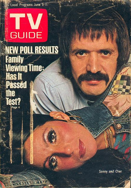 """June 5, 1976. Sonny and Cher of CBS's """"The Sonny and Cher Show."""""""