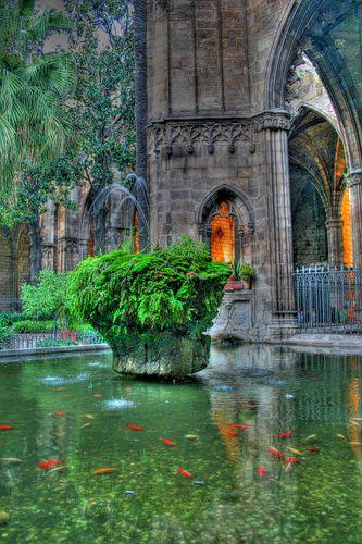Claustro catedral Barcelona