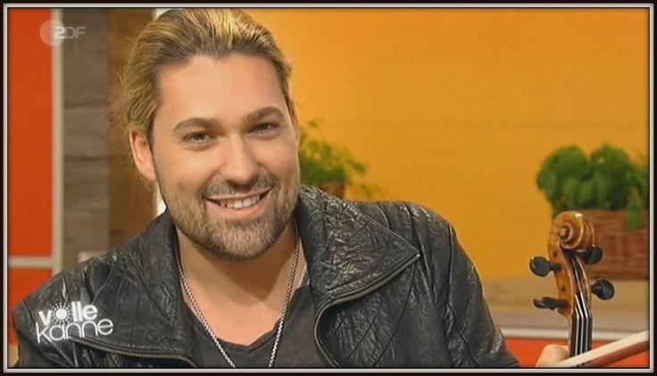 "The interview of David Garrett and Valentina Babor on German TV ZDF ""Vol..."