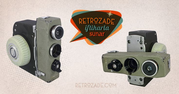 Sekonic Dualmatic 8mm Film Kamerası