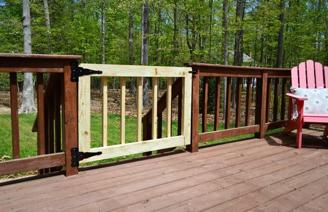 Deckgate Literally How To Make A Deck Gate Old Houses