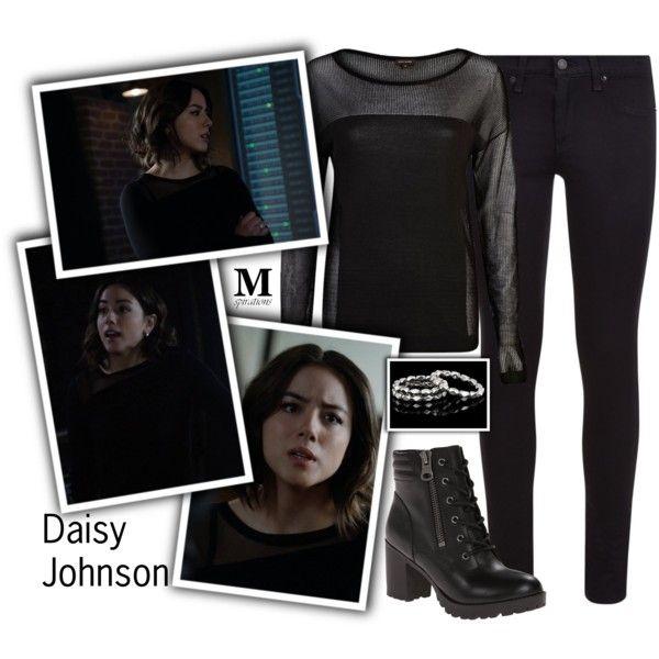 #DaisyJohnson #Daisy #Johnson #Quake #Skye #MarySuePoots #Inhuman #AgentofSHIELD #Agent #SHIELD #Marvel #Chloe #Bennet #ChloeBennet