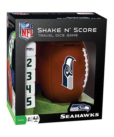 Look at this #zulilyfind! Seattle Seahawks Shake 'n' Score Game #zulilyfinds