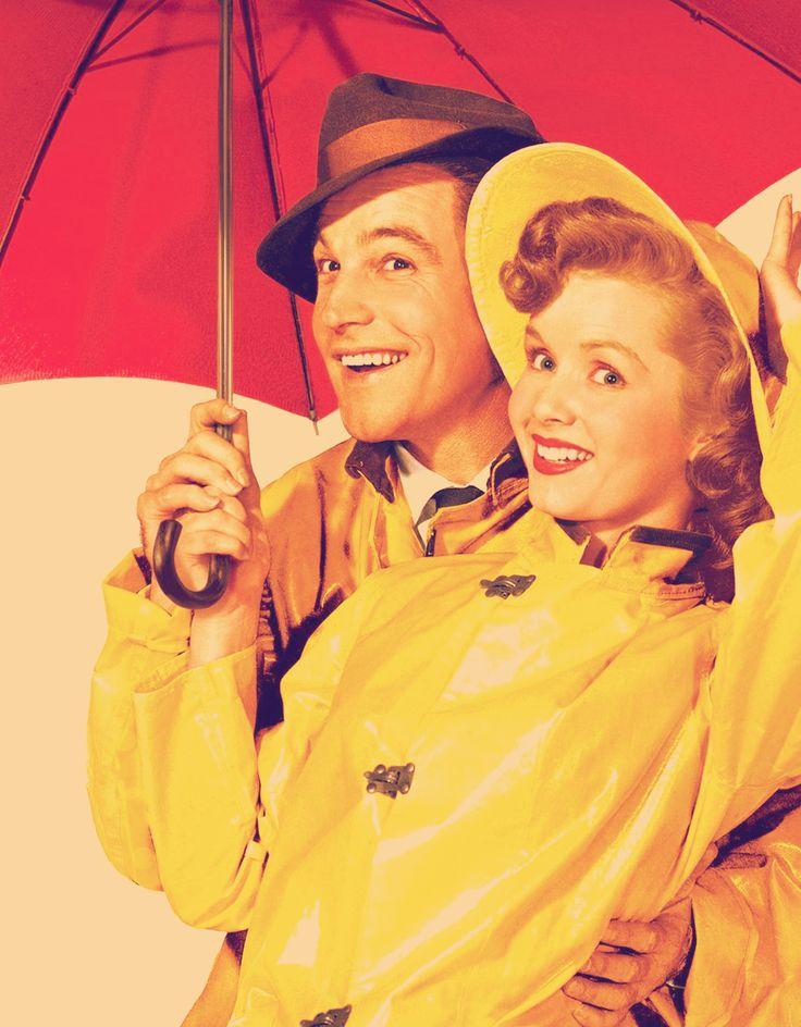 Gene Kelly and Debbie Reynolds. Singin' in the Rain.