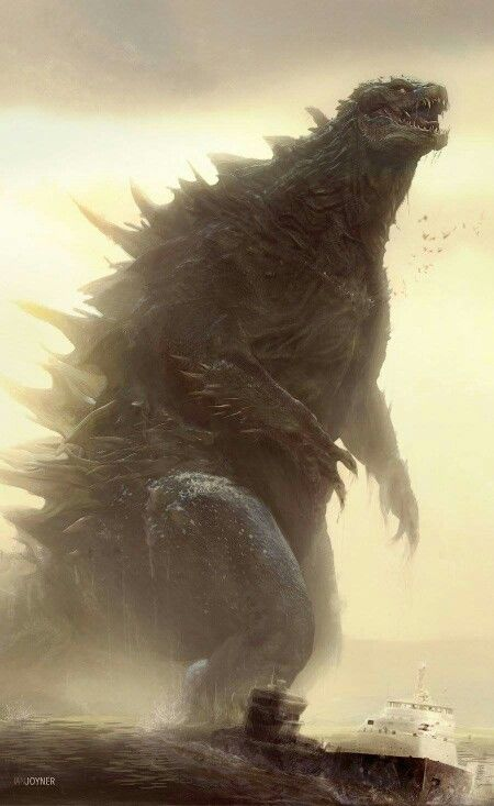 Epic Godzilla fan art