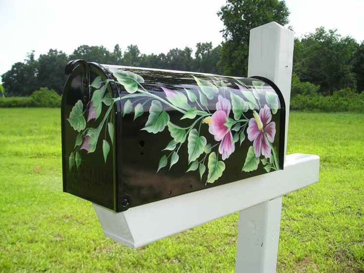 25 best ideas about painted mailboxes on pinterest for Innovative painting ideas