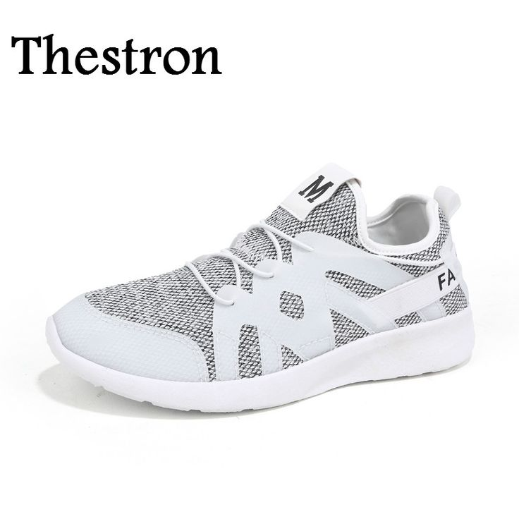 Thestron Mens Shoes Brand Sneakers Comfortable Sneakers Men Sport Black Gray Athletic Men Shoes Cheap Sneakers Shoes For Man #Affiliate