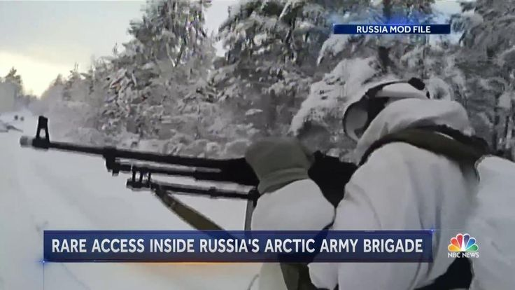 NBC News was granted rare access to the Alakurtti base this week, along with several other foreign media organizations. Located near the border with Finland in the Murmansk region, the Soviet-era base was refurbished and formally opened in 2015. http://www.nbcnews.com/nightly-news/video/u-s-closely-watching-russia-s-arctic-military-build-up-933331523964