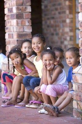 Children from Port Elizabeth, South Africa