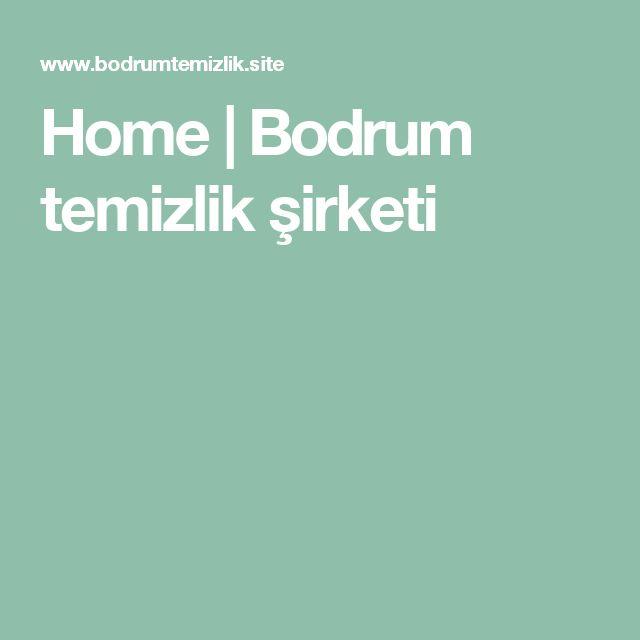 Home | Bodrum temizlik şirketi