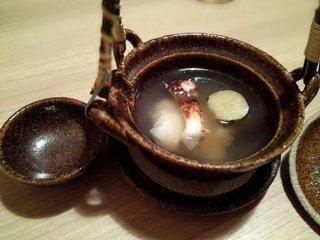 いまゐ - 鱧と松茸の土瓶蒸し  #行ってみたい  #新宿  #御苑