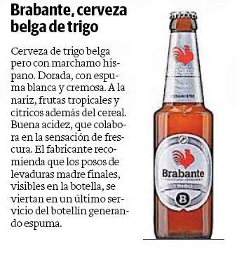 Brabante Trigo en el periódico Las Provincias