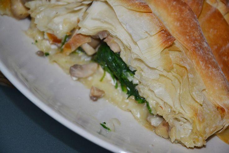 KobiecaGracja: Kuchenne rewelacje: kurczak, szpinak i pieczarki z...