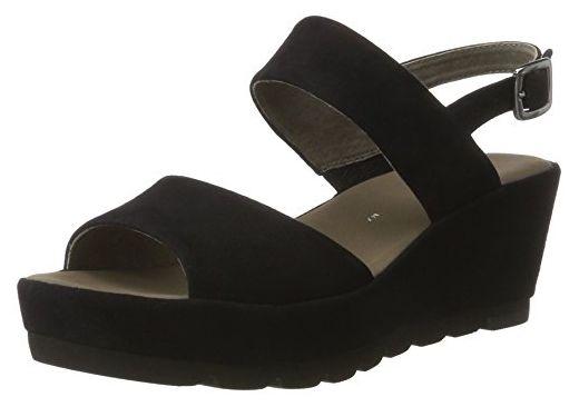 Gabor Shoes Damen Fashion Plateau, Blau (Pazifik 16), 38 EU - Sandalen für frauen (*Partner-Link)