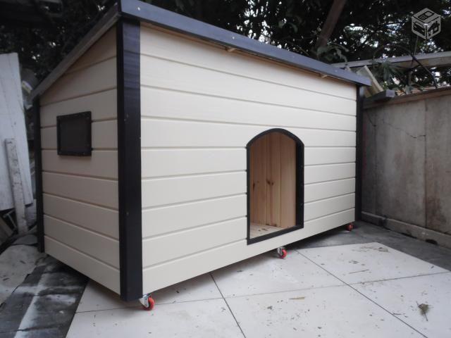 Casa de Cachorro DOG-06K9 - dupla c/ 01 entrada