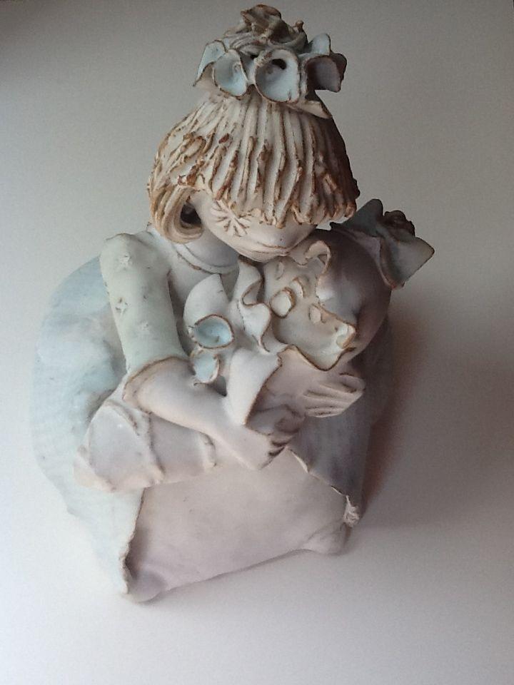 Kovács Éva - Mother with child 1970'