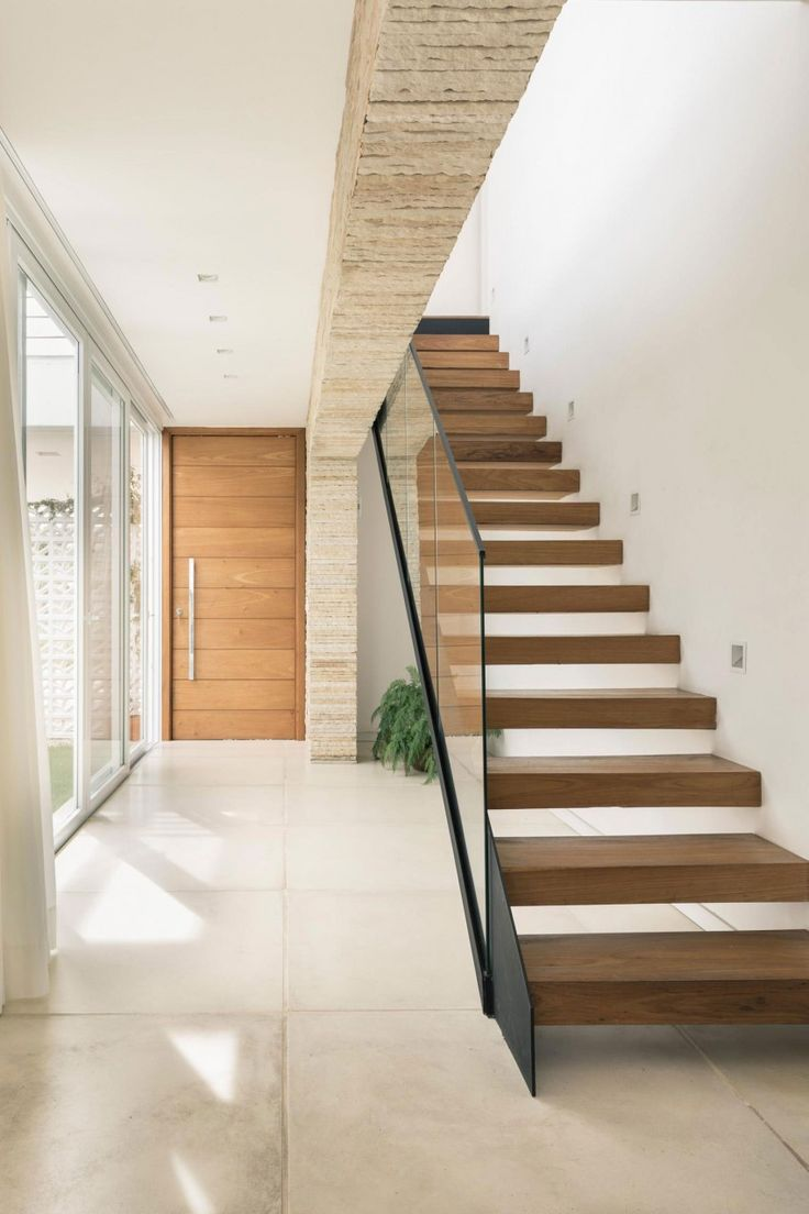 96 best stairs images on pinterest stair design for Modern house stairs