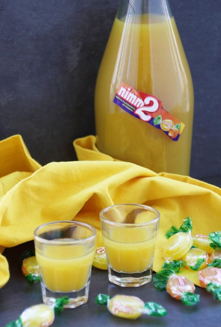 Leckeres Rezept für einen Nimm 2 Likör mit Orangensaft