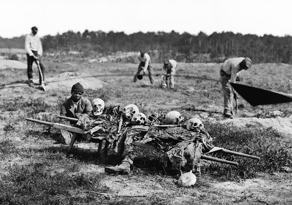 African-Americans Collect the ... is listed (or ranked) 11 on the list 23 Astounding Civil War Battlefield Photos