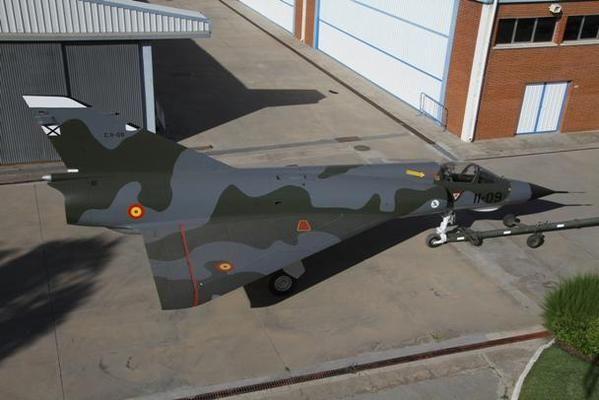Mirage III, ALA 11; Spanis Air Force